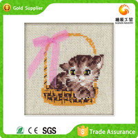 Full stock acrylic mosaic oil painting of cute animal for 3d wall art