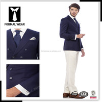 Men's Formal Suits navy stirped blazer Men Suits Tailored