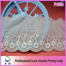 Wholesale Hot Lace Trim/New Women Saree Lace Trim/Guipure Embroidery Lace Trim