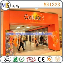 computer laptop and mobile phone shop interior design