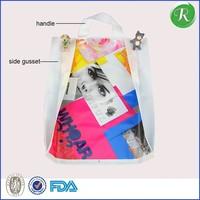 Vest biodegradable plastic shopping bags----100% biodegradable compostable corn plastic