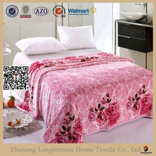 2015 china factory polyester wholesale comforter sets baby soft thick fleece blanket SDF093