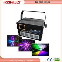 1W rgb cheap dj disco laser lights