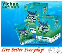new products for 2013 nutrition OMEGA3 Fish oil halal Gummy vitamins