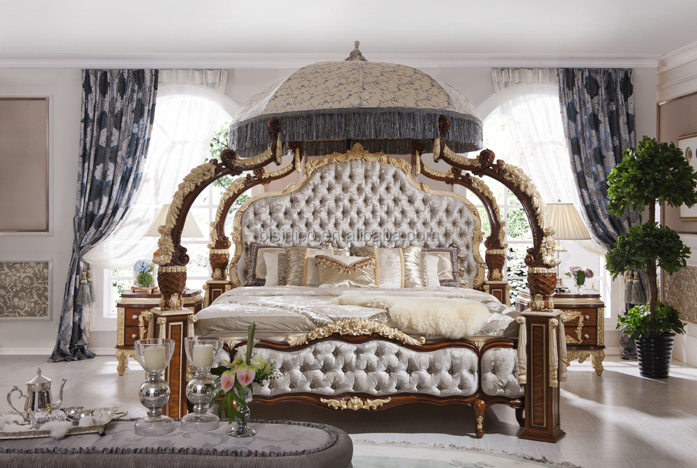 italien fran ais rococo de luxe mobilier de chambre duba de luxe chambre ensemble de meubles. Black Bedroom Furniture Sets. Home Design Ideas