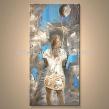 Newest Handmade Indian Artists Oil Paintings For Decor