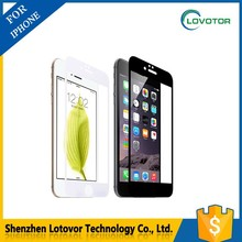 Shenzhen Lovotor factory mirror tempered glass screen protector 2.5D arc angle