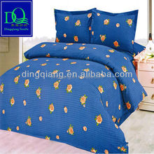2015 new design 3D disperse printed bed sheet fabric
