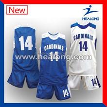 100%polyester mesh cheap reversible basketball jerseys