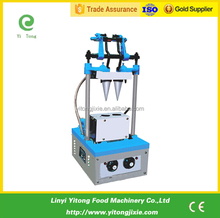 50-60 piece/h capacity 2 head ice cream cone making machine
