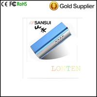Sansui A35 portable mini sound vibration speaker subwoofer outside MP3 discman support TF card & radio