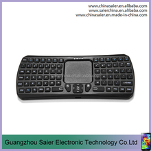 Amazon hot sale handy 3.0 version qwerty bluetooth mini game touchpad external keyboard for mobile phone