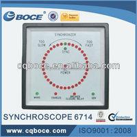 Diesel Generator Single Phase Synchroscope meter 6714+