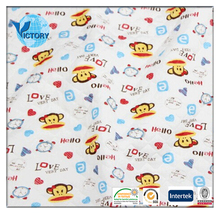 Jacquard Printed Quilted Fabric Double Air Layer Knitted Fabric for Baby Clothes,Garment,etc.