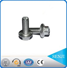 Fasteners manufacturers stainless steel a4-80 flange bolts with holes