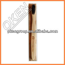 Preserve eco bamboo toothbrush wood natural bristles with high quality