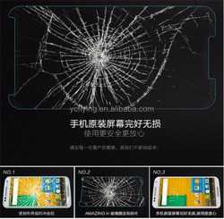 factory manufacturers tempered glass screen protector for Moto X XT1085