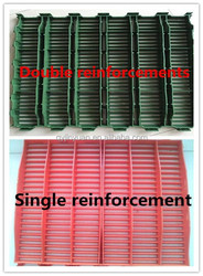 Pig/Poultry plastic slat covering/pig floor system for farrowing crate