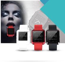 Good quality U8 watch waterproof wrist watch mobile phone with bluetooth,micro sim card watch phone