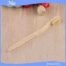 Made in china, Yellow Disposable Hotel Toothbrush