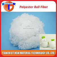 7D recycled hollow conjugated polyester fiber/ polyester fiber ball