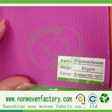 Polipropileno spunbond tecido não tecido, compre direto de fabrica tecidos