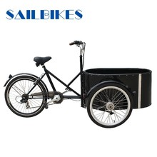 three wheel cargo tricycle bicycle for children