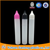 30ml PE pen shape unicorn bottle for e-cigarettes oil