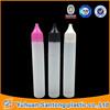 30ml PE pen shape unicorn bottle for e-cigarettes oil
