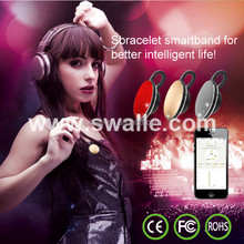Wireless Vibrating Bluetooth Bracelets Waterproof Smart Gear Fit for Ios Android Phone
