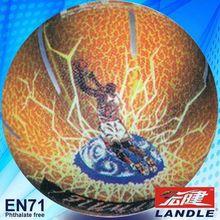 rubber inner basketball novel style 2013 best new hot sale indoor basketball