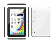 10 inch 1024*600 capacitive touch screen Google Android 4.4 1G DDR 8G HDD 0.3MP 2MP MTK8127 Quad core android tablet pc