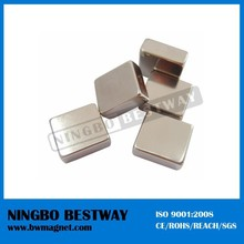 thin neodymium triangle building blocks bar magnets