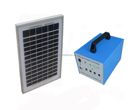 China factory 20W solar home lighting system for rural people use