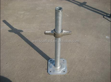 construction scaffolding screw jack base