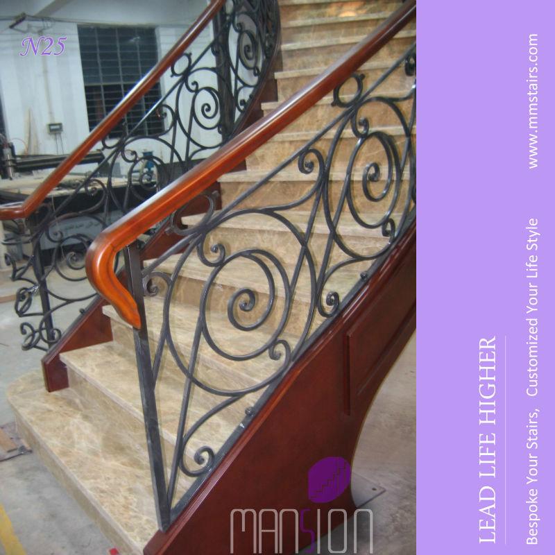 Treppengeländer Holz Gebogen ~ vorgefertigten metall treppengeländer gebogen stahl stringer