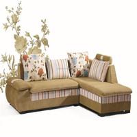 metal sofa cum bed with fabric material