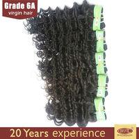 Best deep wave hair texture!!2014 Guangzhou wholesale Brazilian hair bundles
