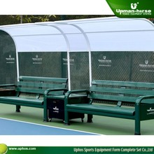 Tennis outdoor bench Rest bench Sectional Aluminum Benches