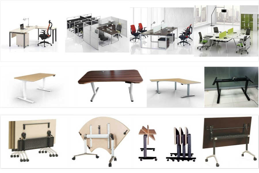 Mobile Meeting Tables Conference Room Table Folding Training Table - Conference room table legs