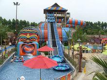 2015 hot sale snake slide amusement park equipment for adults water entertainment