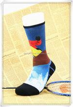 custom socks sublimation basketball for crew team