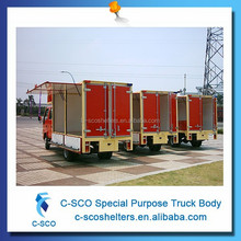 Customized high quality mobile coffee van with different design