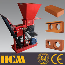 ECO BRAVA hydraulic automatic mini clay interlocking brick making machine