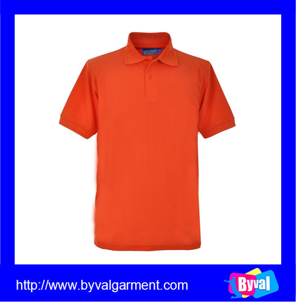 Oem clothes manufacturer custom orange plain polo shirt for Custom polo shirt manufacturers
