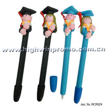 Doctor boy and girl clay ballpen for student's prize