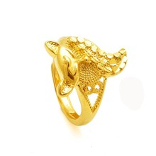 The new 2015 OuBi building plate imitation gold bracelet nine-tailed fox raccoon dog ring