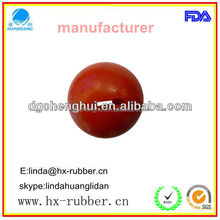 2015 best quality hollow rubber ball,Promotional Gifts Rubber Bouncy Ball,for Toy Vending Machine/ mini kids toy