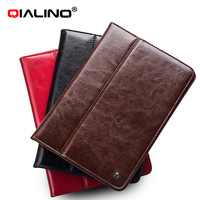 2014 QIALINO best selling leather case for ipad mini 2 case