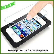 delicate touch ultra thin screen protector for mobile phone,2.5D tempered glass